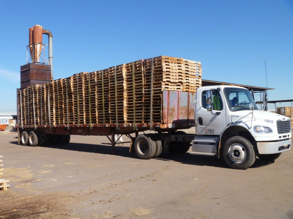 Recycled Or Used Pallets Moran Lumber
